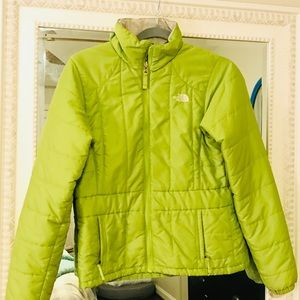 Apple green North Face Jacket!
